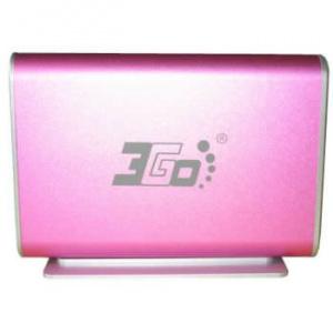 """CAJA EXTERNA HDD 3.5"""" SATA-USB 3GO ROSA [5] 1"""