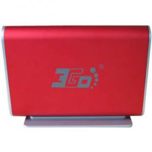 """CAJA EXTERNA HDD 3.5"""" SATA-USB 3GO ROJA [5] 1"""