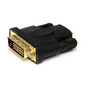 STARTECH ADAPTADOR  HDMI A DVI - DVI-D MACHO - HDM 1