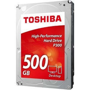 "DISCO DURO 3.5"" TOSHIBA 500GB P300 SATA3 7200RPM (RETAIL 1"