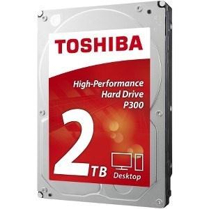 "DISCO DURO 3.5"" TOSHIBA 2TB P300 SATA3 7200RPM 64MB 6GB/ 1"