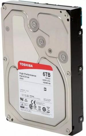 "DISCO DURO 3.5"" TOSHIBA 6TB X300 SATA3 7200RPM 128MB 1"