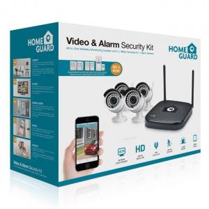 KIT VIDEOVIGILANCIA HOMEGUARD CCTV 960P WIFI 1