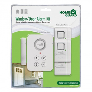 KIT ALARMA HOMEGUARD PANEL NUMERICO+SENSORES 1