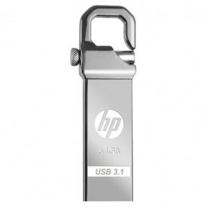 PEN DRIVE 64GB HP METALICO  X750W  MOSQUETON 1