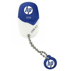 PEN DRIVE 32GB HP USB 3.1 X780W AZUL - BLANCA 1