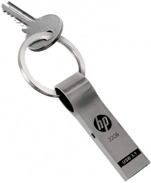 PEN DRIVE 32GB HP METALICO  X785W  LLAVERO 1