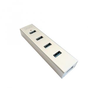 HUB USB 3GO 3.0 4 PUERTOS ALUMINIO ALIMENTADO 1