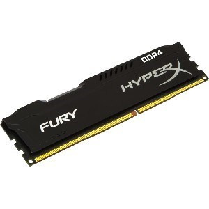MEMORIA KINGSTON DDR4 4GB 2400MHZ HYPERX BLACK 1