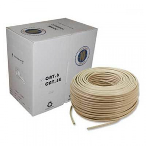 CABLE BOBINA RJ45 UTP CAT.6 SOLIDO 305M 1