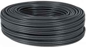 CABLE 100M FTP BOBINA RJ45 CAT6 FLEXIBLE NEGRO 1