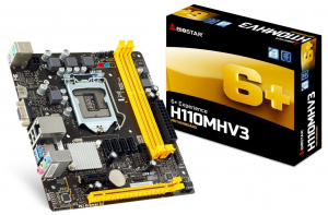 PLACA BASE 1151 BIOSTAR  H110MHV3 MATX DDR3 1