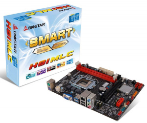 PLACA BASE 1150 BIOSTAR  H81MHV3 MATX 1