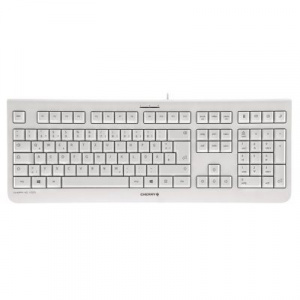 TECLADO CHERRY KC 1000 BLANCO/GRIS 1