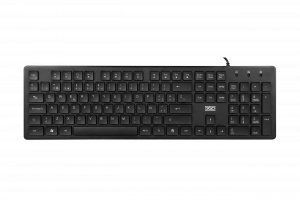 TECLADO 3GO ALLIGATOR SLIM NEGRO USB 1