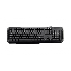 TECLADO 3GO DRILE NEGRO MULTIMEDIA USB 1