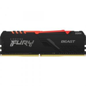 MEMORIA KINGSTON DDR4 8GB 2666MHZ FURY BEAST RGB 1