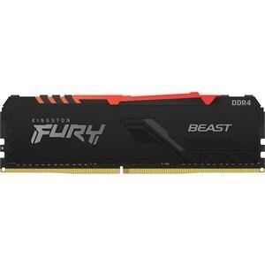 MEMORIA KINGSTON DDR4 8GB 3200MHZ FURY BEAST RGB 1