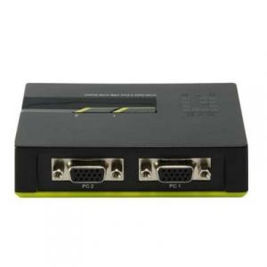 DATA SWITCH KVM  2 PUERTOS USB LEVEL ONE 1