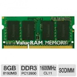 MEMORIA KINGSTON SODIMM DDR3 8GB 1600MHZ CL11 [25] 1