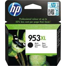 CARTUCHO HP 953XL  NEGRO OFFICEJET PRO 8710, 8715, 1