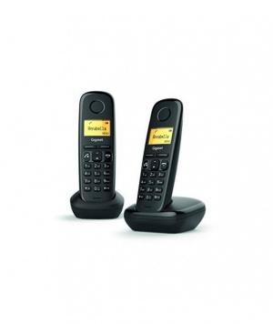 TELEFONO SIEMENS GIGASET DUO A270 NEGRO 1