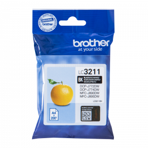 CARTUCHO BROTHER LC3211BK 200PG NEGRO 1