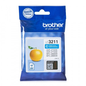 CARTUCHO BROTHER LC3211C 200PG CIAN 1