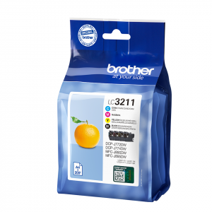 CARTUCHO BROTHER LC3211 200PG PACK 4 COLORES 1