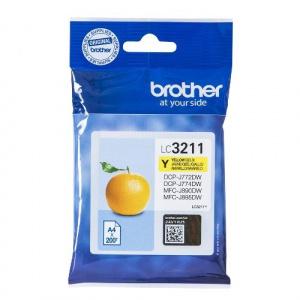 CARTUCHO BROTHER LC3211Y 200PG AMARILLO 1