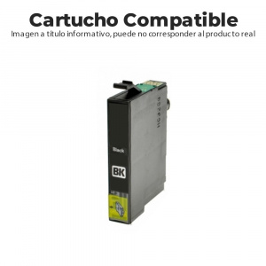 CARTUCHO COMPATIBLE BROTHER LC3213BK 400PG NEGRO 1