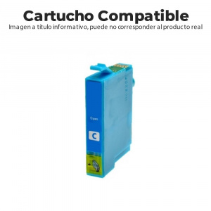 CARTUCHO COMPATIBLE BROTHER LC3213C 400PG CIAN 1