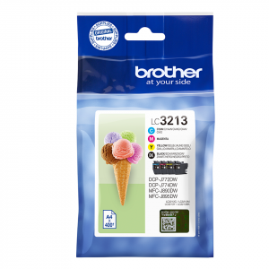 CARTUCHO BROTHER LC3213K 400PG PACK 4 COLORES 1