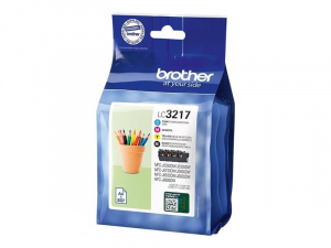 CARTUCHO BROTHER LC3217VAL  PACK 4 COLORES 1