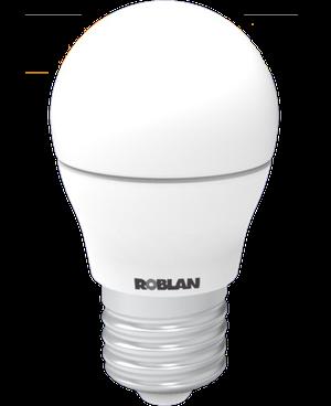 LED BOMBILLA ROBLAN 5W/E27/396LM/3000K/CÁLIDO/160º 1