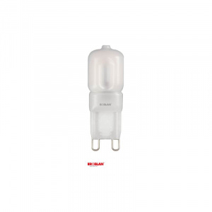 LED SKY G9 ROBLAN 2.5W/G9/200LM/3000K/CÁLIDO/360º 1