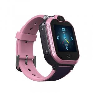 RELOJ LEOTEC SMARTWATCH KIDS ALLO 4G GPS ROSA 1