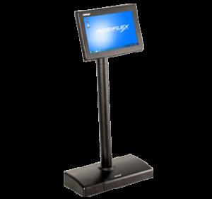 "VISOR CLIENTE POSIFLEX LCD 7"" TFT NEGRO 1"