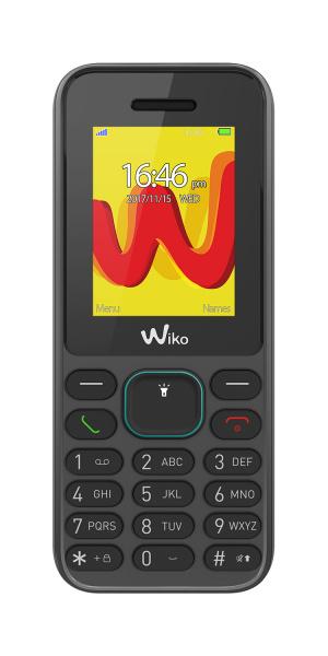 "TELEFONO MOVIL WIKO LUBI 5 NEGRO 1,8"" 1"