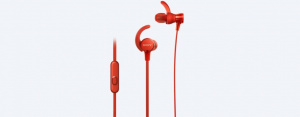 AURICULARES INTRAURALES SONY MDRXB510AS ROJO 1