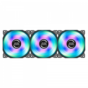 KIT DE 3 VENTILADORES MARS GAMING RGB 120MM 1