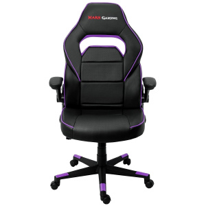 SILLA GAMER MARS GAMING MGC117BP NEGRA MORADA 1