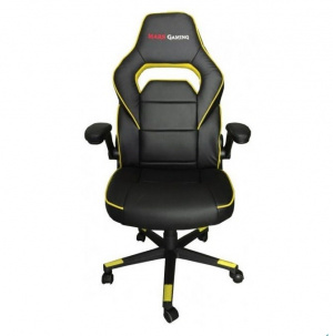 SILLA GAMER MARS GAMING MGC117BY NEGRA AMARILLA 1