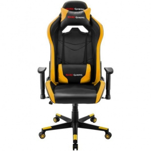 SILLA GAMER MARS GAMING MGC3BY NEGRA AMARILLA 1