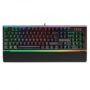TECLADO MARS GAMING MK6 SWITCH MARRON RGB 1