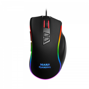 RATON MARS GAMING MM318 USB 24000 DPI RGB 1