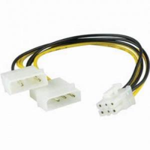CABLE ADAPTADOR MOLEX - PCI-X (6 PIN) 1
