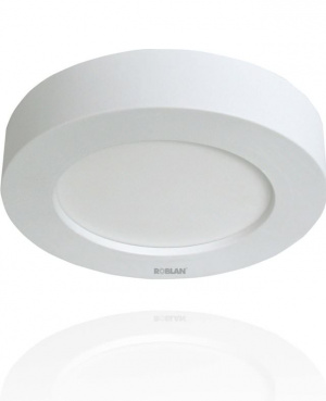 LED MOON CIRCULAR ROBLAN 18W/1300LM/3000K/CAL/IP44 1
