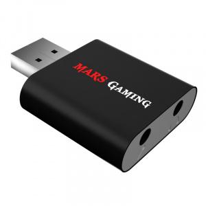 TARJETA SONIDO USB MARS GAMING 7.1 1