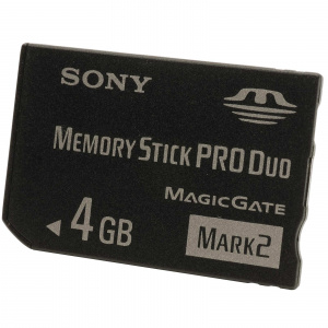MEMORY STICK PRO DUO 4GB SONY 1